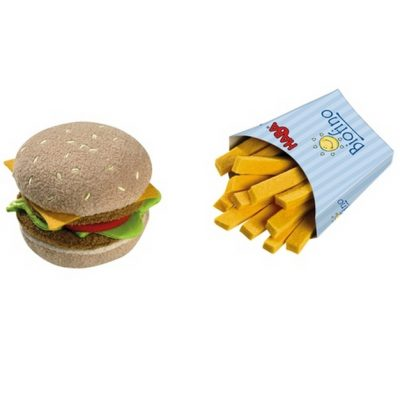 hamburger-frites