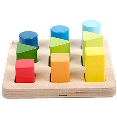 jeu de formes et de couleurs