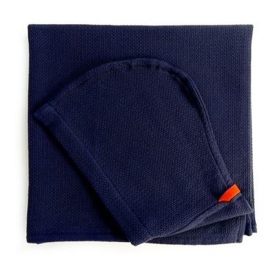Cape de bain Enfant - Midnight Blue
