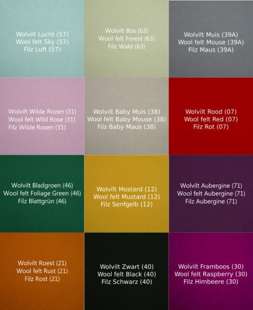 Wobbel board bois naturel / Feutre à choix