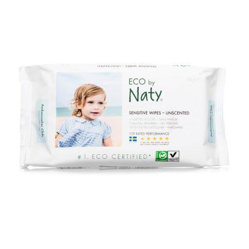 Lingettes Eco sans parfum - NATY