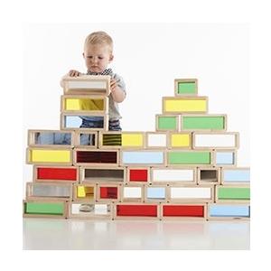 blocs colorés géants