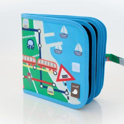 cahier réutilisable transport