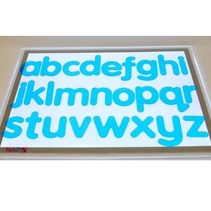 alphabet translucide