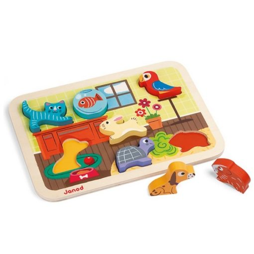puzzle animaux domestiques