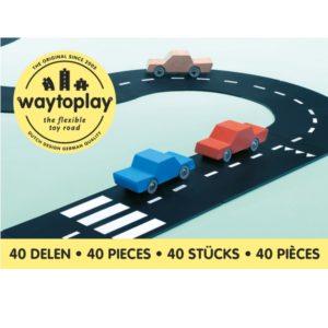 Circuit Roi de la Route 40 pièces  - WAY TO PLAY
