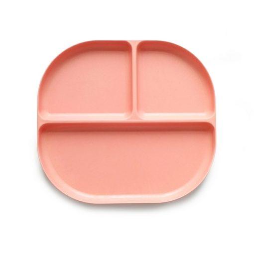 Assiette compartimentée Corail