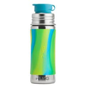 Gourde en inox - Sport- Aqua Swirl - 325 ml  - PURA