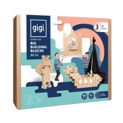 GIGIBLOKS 96 pièces XL - Blocs de construction géants