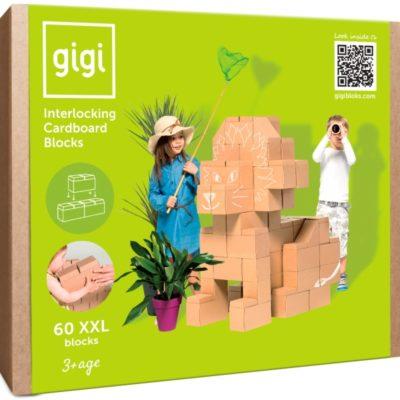 GIGIBLOKS 60 pièces XXL - Blocs de construction géants