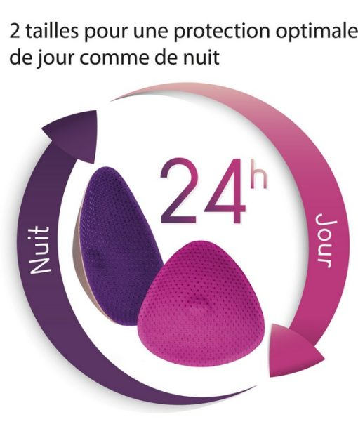 """2 Coussinets d'allaitement Essentiel """"Nuit"""" - Curve"""