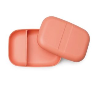 Boîte Bento Rectangulaire - Corail
