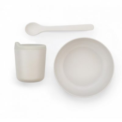 EKOBO-  Set repas bébé avec bec verseur - Set 1 Blanc