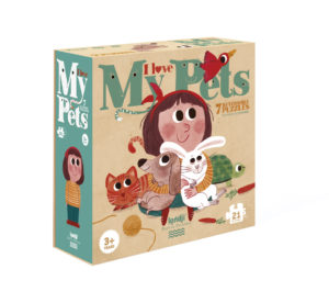 I love my pets puzzle- Puzzle - LONDJI