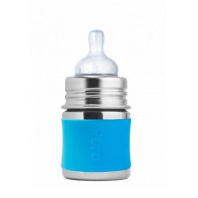 Biberon en inox - Aqua - 150 ml