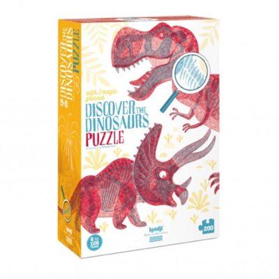 Découvre les dinosaures - Puzzle - LONDJI