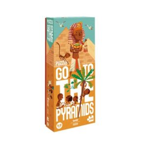 Go to the pyramids - Puzzle - LONDJI