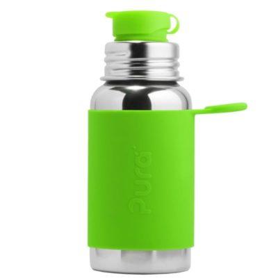 Gourde en inox -  Sport - Green - 550 ml