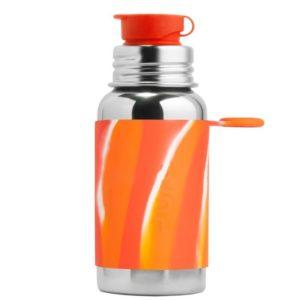 Gourde en inox -  Sport - Orange Swirl - 550 ml - PURA