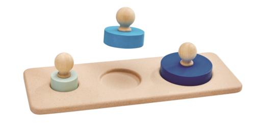 Puzzle de cylindres – PLAN TOYS