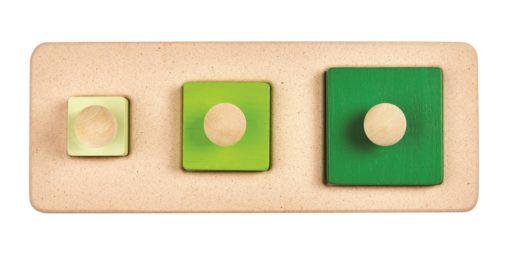 Puzzle de cubes – PLAN TOYS