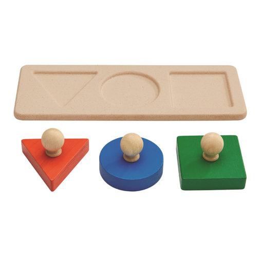 Puzzle de formes – PLAN TOYS