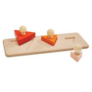 Puzzle de blocs triangles – PLAN TOYS