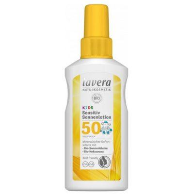 Lavera Crème Solaire FPS 50 - sensitive pour enfants - 75ml