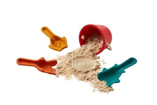 4 accessoires pour le sable - PLAN TOYS