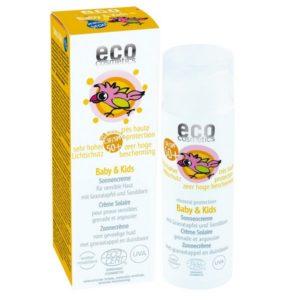 ECO cosmetics crème solaire bébé & enfant BIO IP50+ - 50ml