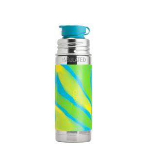 Gourde en inox - isotherme - Sport- Aqua Swirl - 260 ml - PURA