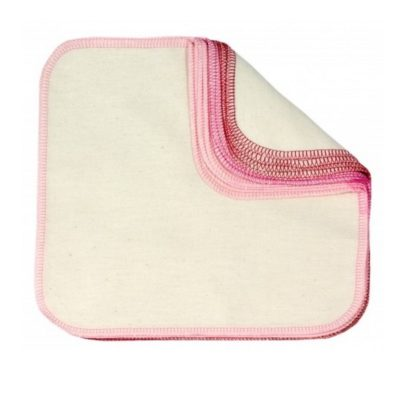 "Lingettes lavables ""Rose"" - ImseVimse"