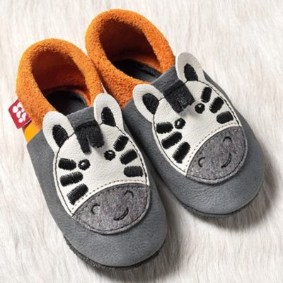 Chaussons en cuir Pololo Taille 30-31