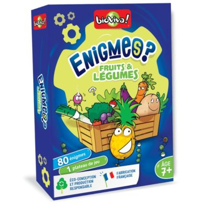 Énigmes - Fruits et légumes - BIOVIVA