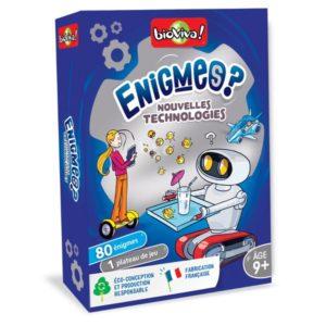 Énigmes - Nouvelles technologies - BIOVIVA