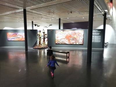 exposition art aborigène - fondation opale