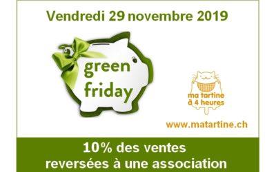 Green Friday : vendredi 29 novembre 2019