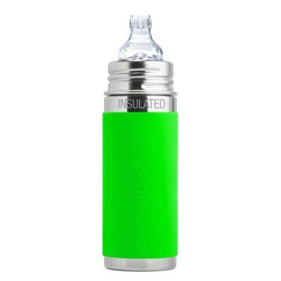 Gourde en inox - Isotherme - Bec d'apprentissage - Green - 260 ml PURA