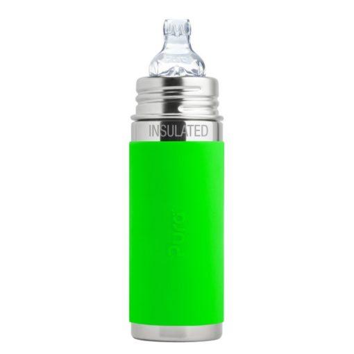 Gourde en inox - Isotherme - Bec d'apprentissage - Green - 260 ml