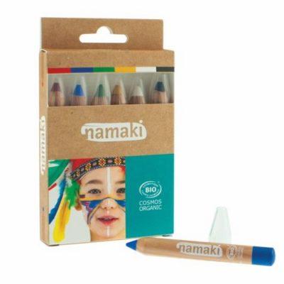 Kit de 6 couleurs - Crayons de maquillage - NAMAKI