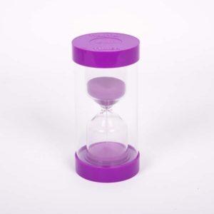 Sablier - 15 minutes - Violet- Tickit