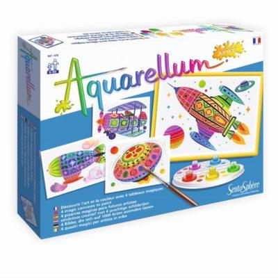Aquarellum Junior - Dans les airs - Sentosphère