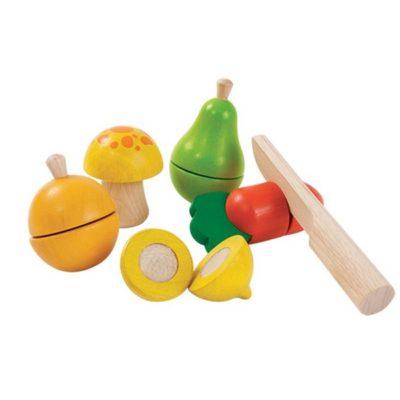 Fruits et légumes à découper - PLAN TOYS
