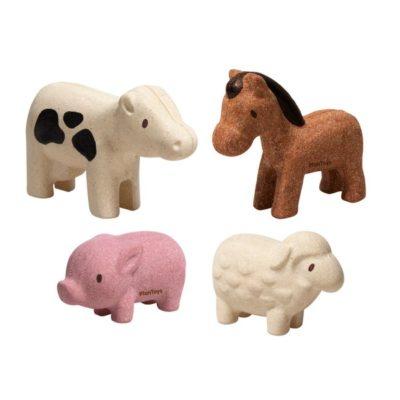 Set d'animaux de la ferme