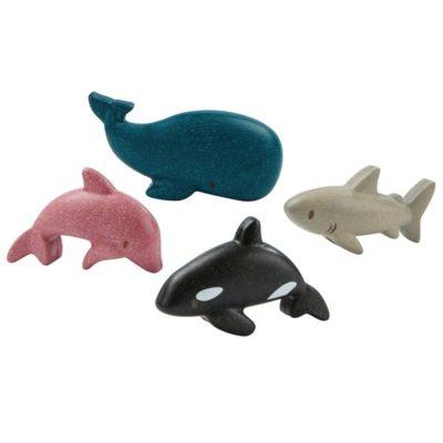 Set d'animaux de la mer