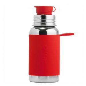 Gourde en inox -  Sport - Red- 550 ml - PURA
