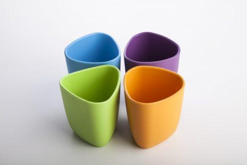 eKoala -  Ekuà lot de 2 verres - Orange et Violet