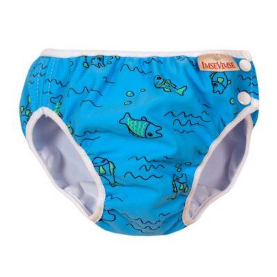 Couche de piscine - Poissons Turquoise - 6-8 kg - Imse Vimse