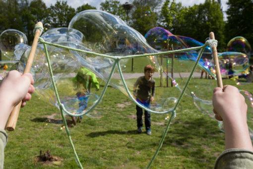 Bubble Lab - Bulles de savon géantes  - Set de 3