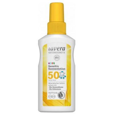 Lavera Crème Solaire FPS 50 - sensitive pour enfants - 100ml